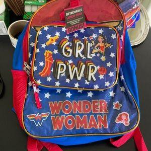😍😍Wonder Woman backpack 😻😻😻